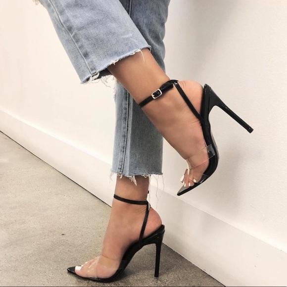 fashion nova black heels cheap online